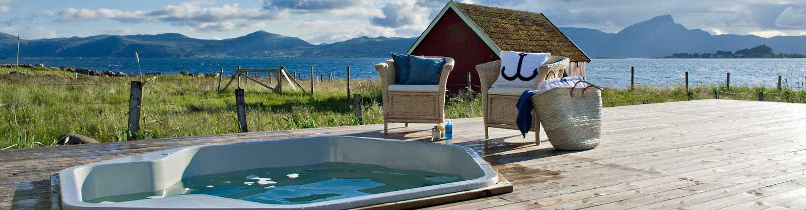 dancenter ferienh user mit au en whirlpool. Black Bedroom Furniture Sets. Home Design Ideas