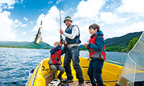 Angler-H�user in Norwegen