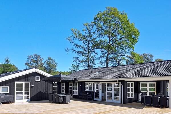 10 persoons vakantiehuis in Oost-Jutland midden